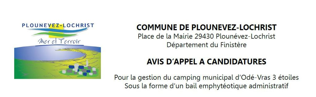 camping appel a candidatures